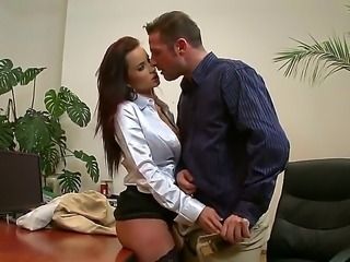 Big titted business woman Cindy Dollar