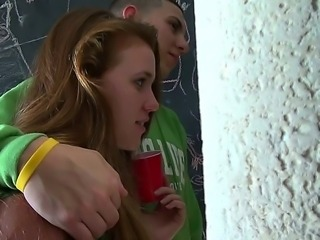 Hot group sex scene featuring lovliest cuties Blake, Mandy Sky and adorable...