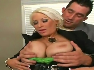 Big bad boss Billy Glide is drilling his sweet secretary with big boobs, that...