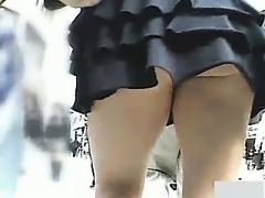 School Students Subway Vent Upskirt