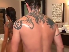 Sexy big titted babe Alyiah Stone is getting drilled by hard cock of Jack Vegas