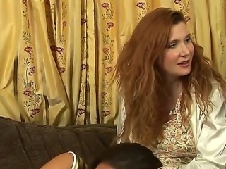 Mia Presley and Randi James are playing naughty games and get horny by the minute