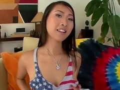 Asian college chick Sharon Lee with