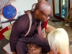 Arousing experienced whorish blonde milf Jacky