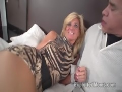 Sexy blonde MILF gets fucked free