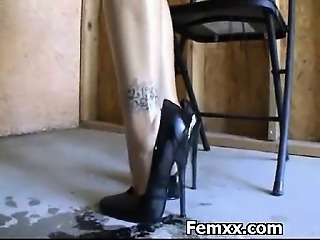 Punishment Loving Chick In Extreme Femdom Milf
