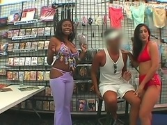 Candace and Luscious Lopez are the daring sluts, which do not afraid showing...