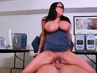 Brandy Talore has found new work and wants to terminate the contract with her boss. She came in chiefs office and and informed him of her retirement. Boss wants to feel her giant tits and sweet pussy at last.