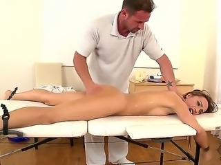 David Perry has ascertained what he believes might be at the bottom of Leyla Blacks laziness as an employee of his massage establishment. Enjoy our new hot video on this site.