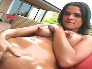 Allaura Sweet prefers to masturbate outside and amaze her neighbors,...