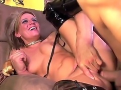 Filthy tanned pornstar Holly Wellin with tattoos and muscled body likes to...