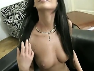 Rocco is ready to bring another orgasm to his female admirer, but first he asks her to demonstrate what she actually can do with the toy she stashed in her closet.