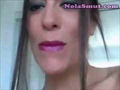 Sexy Girl Exploited Lipstick Fetish