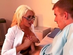 Naughty blonde Summer Brielle is the best nurse in the world as she knows how...