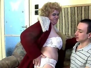 Effie is a very hot granny with great desire to fuck. This cock hungry chick is awesome and she has sex only with young guys whom she makes superb blowjob and swallows the cum