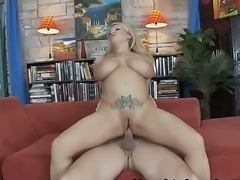 Hello to everyone! This is an amazing and hot scene with a busty milf named Rachel Love. She has a big natural boobs, a sweet mouth and a juicy vagina! You will like it! Watch and enjoy.