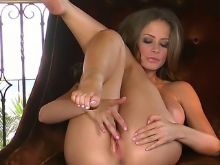 Emily Addison is the proud owner of an absolutely perfect pussy. And tonight she is here to brag it for you  opening its little lippies and rubbing it until it gets all juicy.