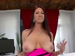 Hot babe Tiffany Mynx with huge