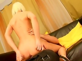 Milia is an anal virgin... but not for much longer. Watch Milia as her cute little virgin asshole gets penetrated for the first time. Hope shes not going to have too much pain.