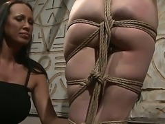 Mandy Bright prefers to play with various toys and bondage devices, so today...