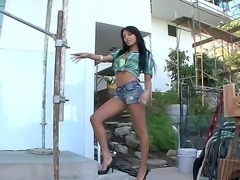 Anissa Kate is going to be our new model, she volunteered herself for this...