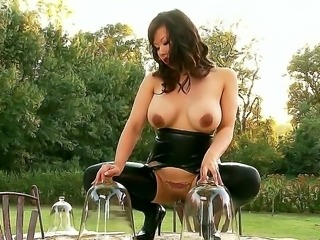 House of Taboo really heats it up with this outdoor scene featuring hardcore queen Tigerr Benson! No wonder shes called Tiger, this horny black haired Asian fuck machine is just ferocious!