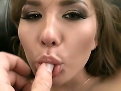 Sizzling hottie Jessica Lux is down to show us how bad she wants to take...