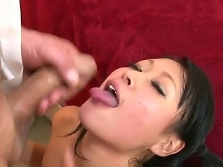 Hotties are enjoying huge cocks in wild and nasty oral session of hardcore