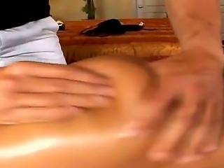 Jenaveve Jolie with her beautifully pierced nipples feels very tired after a hard working week, so she is enjoying a nice and relaxing massage from a professional guy with strong hands.