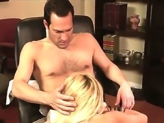 Blonde cougar Breanne Benson is super sexy lady with great body and hot long...