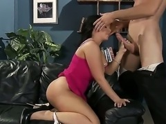Jordan Ash is lucky fucker. Why Just because he puts his cock in sexy Emma...
