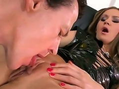 Young babe Sweet Lana gets pounded by huge dick in wild hardcore session