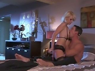 Wonderful blonde girl Courtney Taylor with