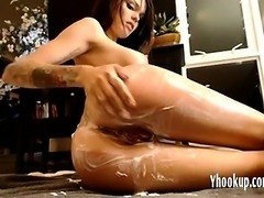 Cream Lotion play on cam- yhookup_c