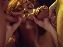 Janey Robbins, Tom Byron + Ron Jeremy