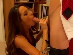 Office banging with Johnny Sins and Kortney Kane would impress you so much!...