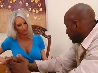 Emma Starr and Prince Yahshua are having an amazing interracial hardcore fucking