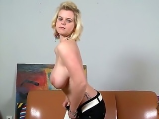 Busty fair-haired female Sofia is here to show you what shes got for our eyes and dicks. This Slovakian courtesan wakes a massive thrills in the head of our hard penises.