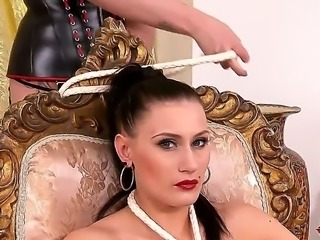 The United Kingdom has been chock full of playboy bunny material for DDF these days, and today we showcase two of our finest, Paige, and Isla. Enjoy this hot BDSM scene full of sluts.