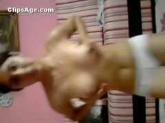 Pakistani teen babe Sada full strip show scandal video exposed