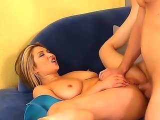 Adorable hungry for cock asian blonde