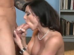 Legendary Kendra Lust gets her ass tongue fucked and her mouth stuffed with...