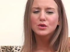 Young blonde Malia gives amazing solo show wick made her enjoys deep fingering