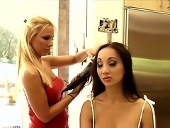 Crazy babe Katsuni gives us an interview and shows her nasty holes and an...