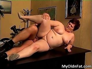Fat brunette slut with big tits