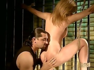 Safira White was behaving badly and she needed to be given some discipline lesson. Dude doesnt give her a chance of waiting. He ties up hottie, spanked her and fucks cunt.