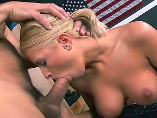 Young and horny Jessica Nyx loves having Ramons huge dick sliding down her tight cunt
