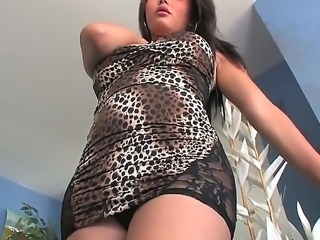 Taylor Stewart is extremely hard to tell from a real lady  this exotic tranny looks perfectly feminine, dont you find Attend her interview here  its damn exciting!