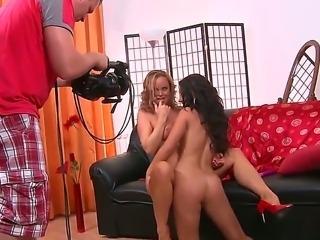 Horny sweet lesbian bitches Silvia Saint