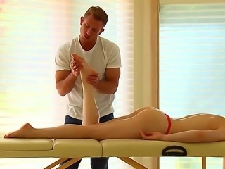 All masseurs know that getting overexcited at work is bad thing but How could...